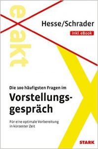 Buch 100 Fragen im Vorstellungsgespräch